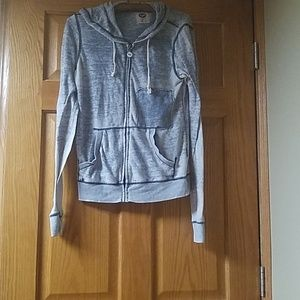 Roxy Hooded Shirt Size Medium